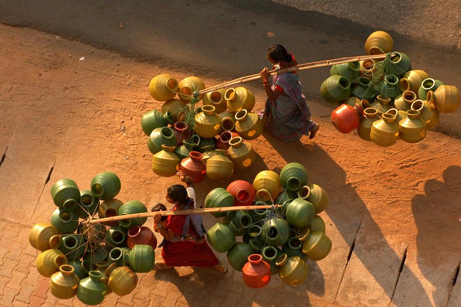 Street Vendor by Astro Mohan